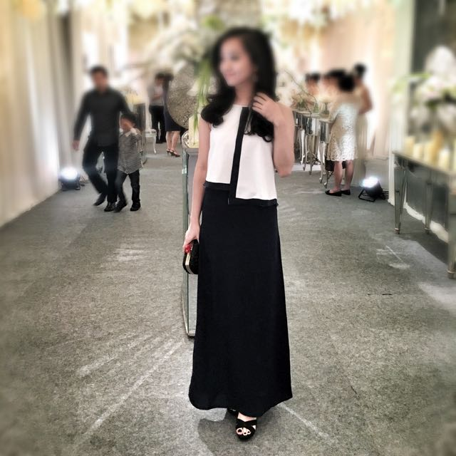 The Executive Long Dress Pesta