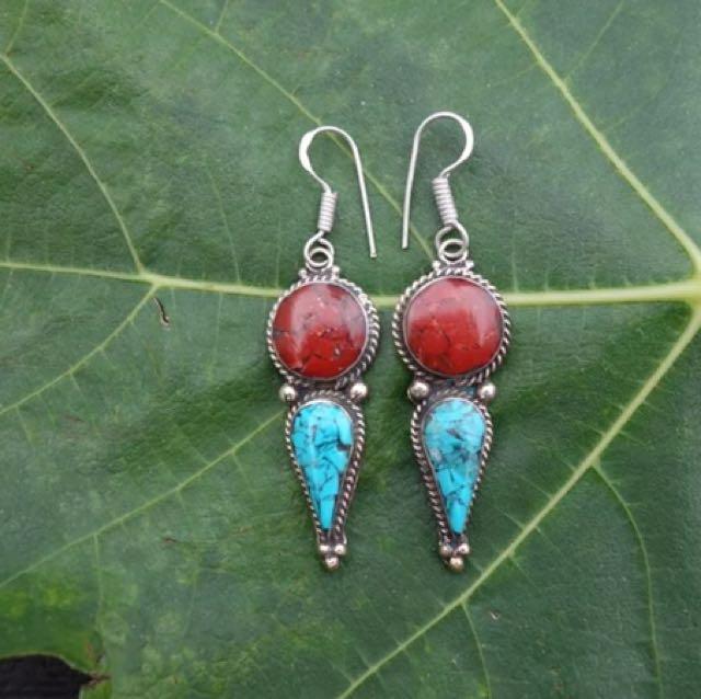 Tibetan Earrings