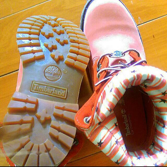 幾近全新純正日本帶回Timberland反折鞋