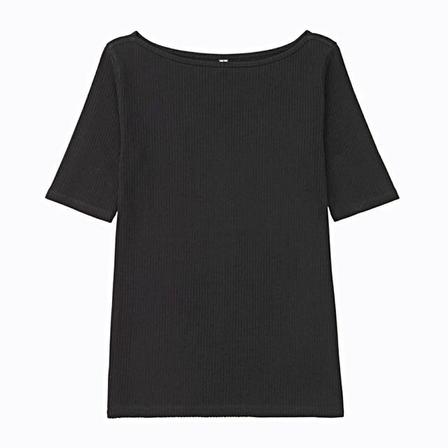 Uniqlo Tshirt Kaos Hitam