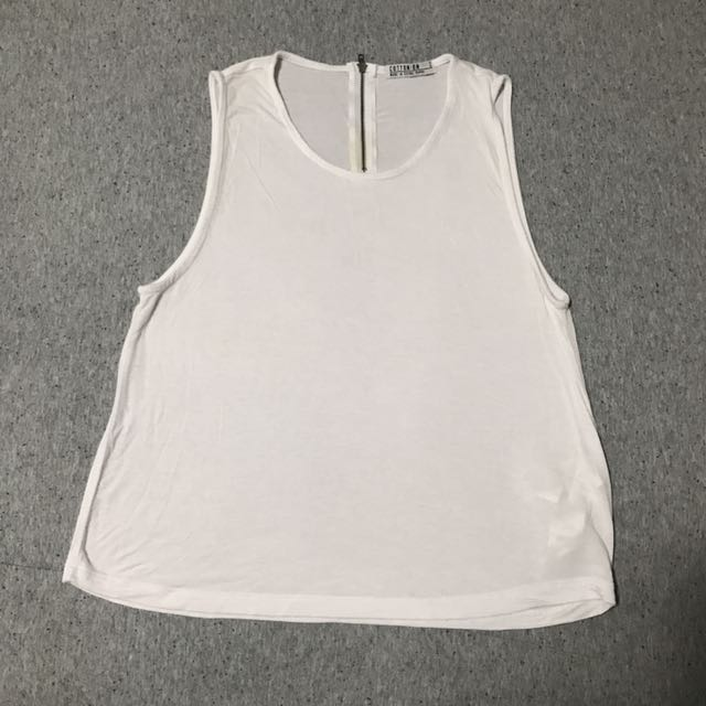 White Light Weight Cotton Top