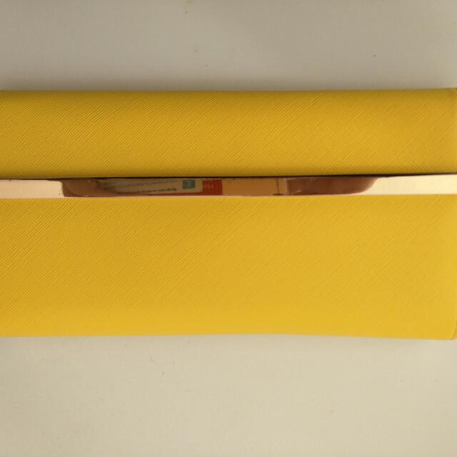 Yellow Wallet/Clutch Collette