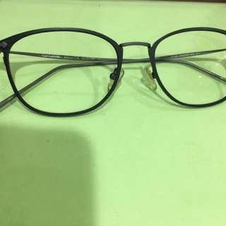 法國Guy Laroche 復古無框眼鏡