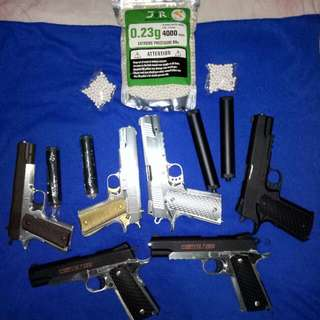 airsoft toy guns