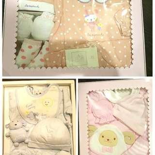 新生兒衣服禮盒