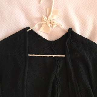 Brandy Melville Black Knit Cardigan