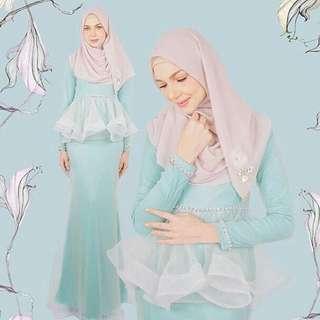 #CNY-Minaz Maryam peplum dress