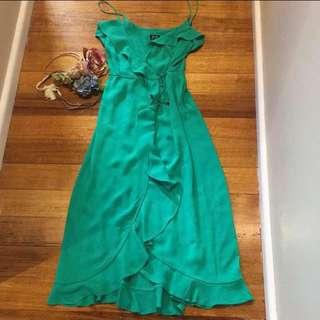 🌺Bardot dress Lined chiffon size 8