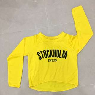 Stockholm Yellow Top