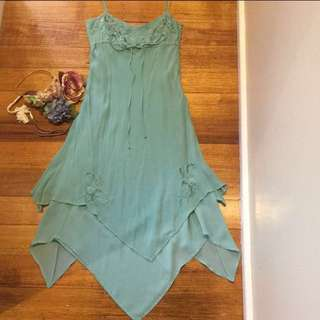 🌺Sportgirl dress Lined chiffon size 6