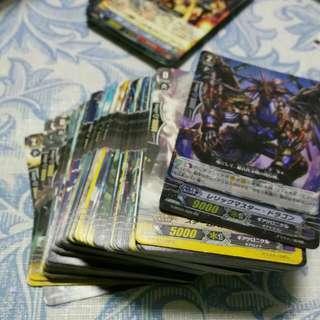 CARDFIGHT VANGUARD (84 CARDS)  FREE RARES