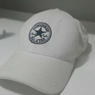 Converse White Hat