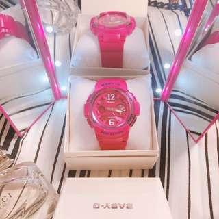 Baby-G 桃紅 手錶(日本購入)
