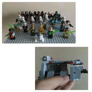 Star Wars Mini Figures Set