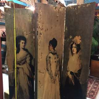 antique victoria. style ladies partition