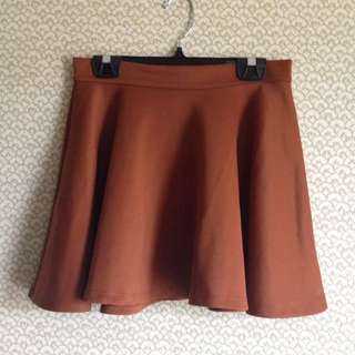 Brown Skirt From Bluenotes