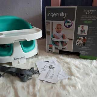 Baby Booster Ingenuity Base 2 In 1