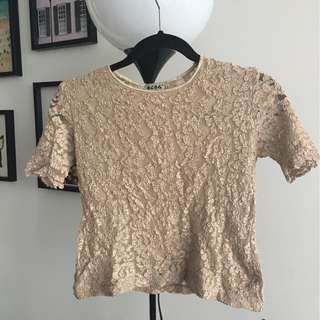 Vintage BCBG lace top