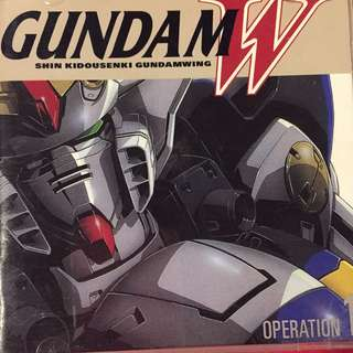 Gundam Wing W  Operation 1 OST cd