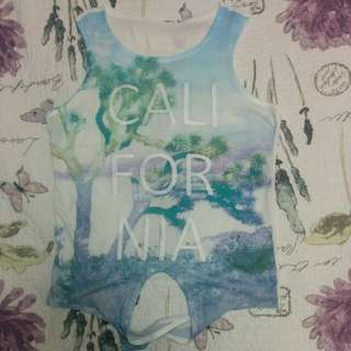 Aeropostale California tank top