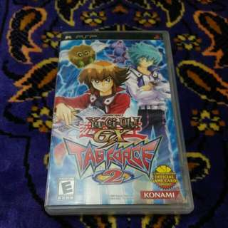 Psp Cd Game TAG FORCE 2