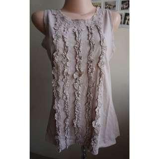 Et Cetera- Folded Cotton Top