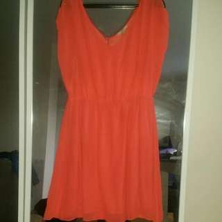 Peach Dress- Size Xl