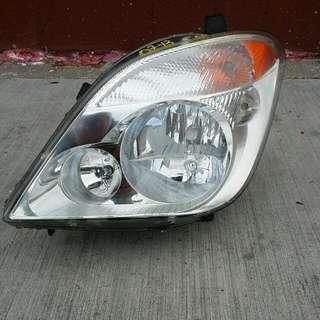 2007 Through 2013 Driver Side Headlamp