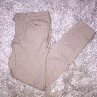 Nude/Beige Skinny Pants