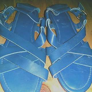 Jack Wills Sole Leather Sandals. Made From India.
