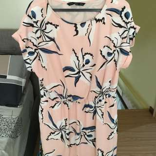 Forme Pink Printed Dress