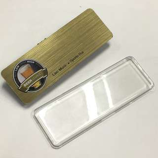 REUSABLE PRESS & CLIP NAME TAG for restaurant, servers, hotels, events, conference