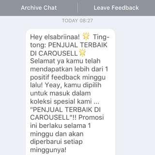Alhamdulillah. Thank You Carousell 💃🏻💃🏻