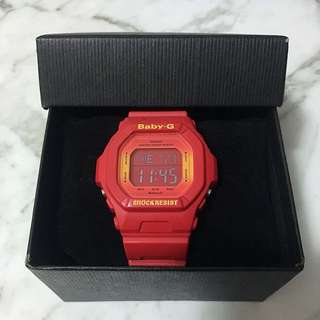 Red Casio Baby G (Free Shipping!)