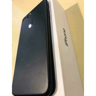 Iphone 7 Plus Matte Black 32gb FU