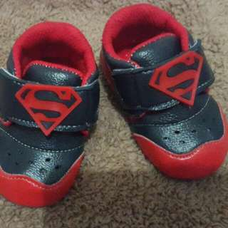 Baby Shoes Superman