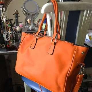 Pumpkin Handbag