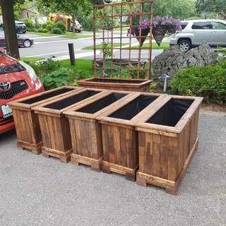 Handcrafted Garden Planters