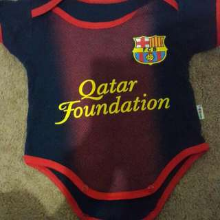 Baby Jumpsuit Barcelona FC