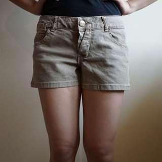PULL&BEAR- Brown Shorts