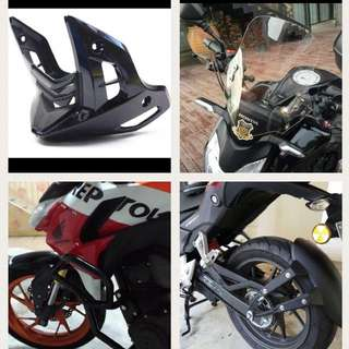 Honda Cb190R And CB190X Parts And Accessories
