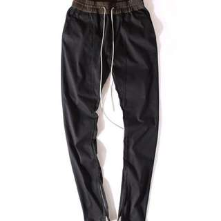 Fear of God Black Zipper Pants (FOG)