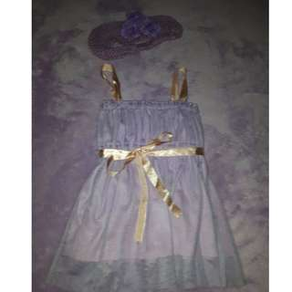 (REPRICED!!!) Lavender Baby Dress
