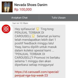 Yey Again👏 Thank's Carousell😘