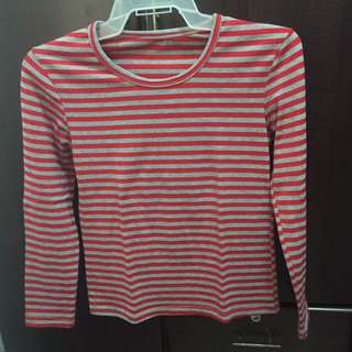 Sweater Stripes Red