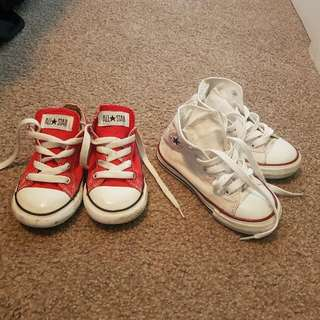 Kids Chucks Size US 9 Kids