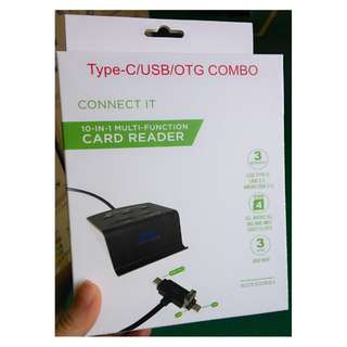 Type-C / USB / OTG Combo - Card Reader - USB Hub - S1406