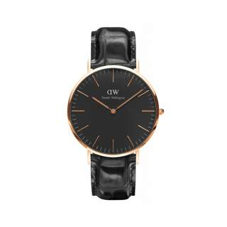 Authentic/Legit/Original Daniel Wellington Classic Black Reading 40mm Rosegold Watch