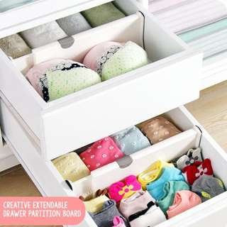 Extendable Drawer Partition Board - Drawer Divider
