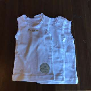3 Marquise Baby Singlets